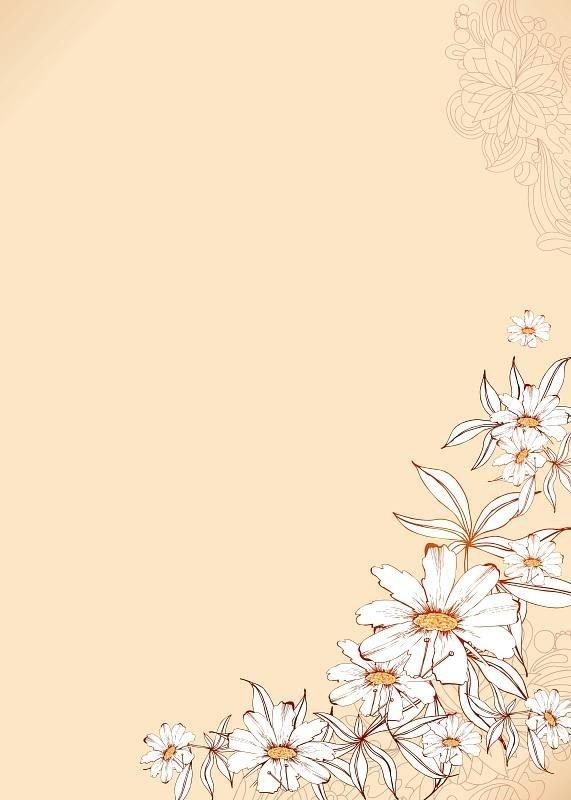 białe kwiaty tablica suchościeralna magnetyczna 083