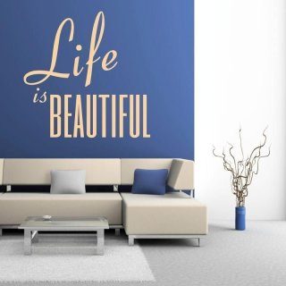 naklejka 03X 16 life is beautiful 1746