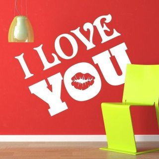 naklejka 03X 23 I love you 1714
