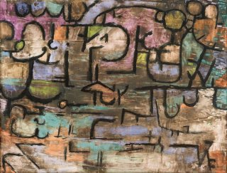 Reprodukcja After The Flood, Paul Klee