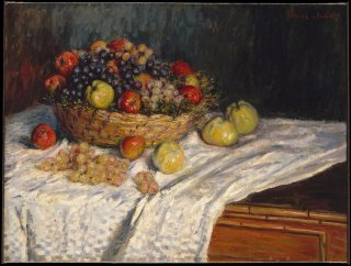 Reprodukcja Apples and Grapes, Claude Monet