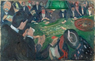 Reprodukcja At the Roulette Table in Monte Carlo, Edvard Munch