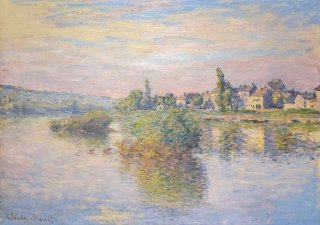 Reprodukcja Banks of the Seine, Claude Monet