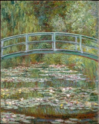 Reprodukcja Bridge over a Pond of Water Lilies, Claude Monet