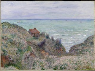 Reprodukcja Cabin of the Customs Watch, Claude Monet