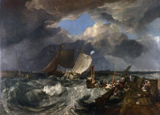 Reprodukcja Calais Pier, William Turner