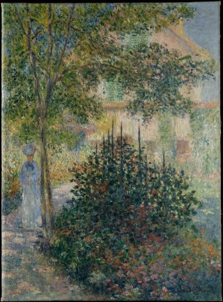 Reprodukcja Camille Monet in the Garden at Argenteuil, Claude Monet