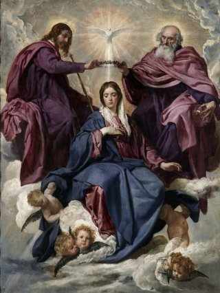 Reprodukcja Coronation of the Virgin, Diego Velazquez