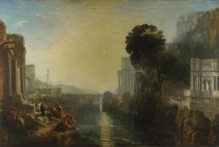 Reprodukcja Dido building Carthage or The Rise of the Carthaginian Empire, William Turner