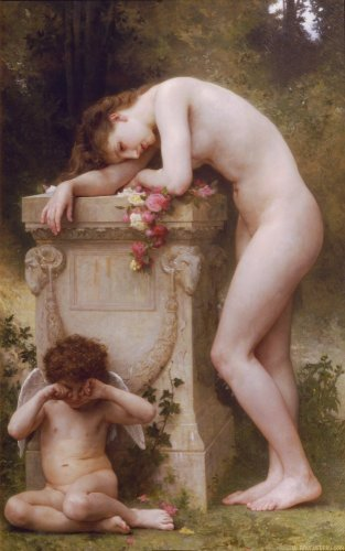 Reprodukcja Elegy, William-Adolphe Bouguereau