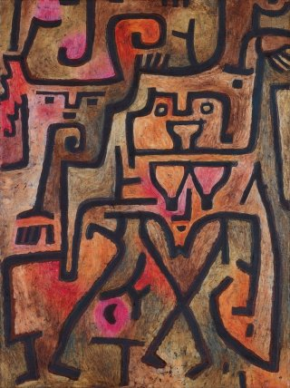 Reprodukcja Forest Witches, Paul Klee