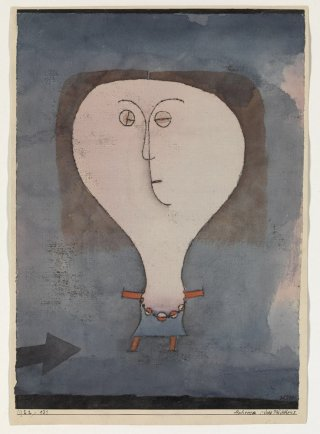 Reprodukcja Fright of a Girl, Paul Klee