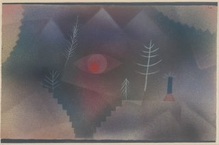 Reprodukcja Glance of a Landscape, Paul Klee