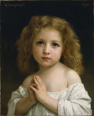 Reprodukcja Little Girl, William-Adolphe Bouguereau