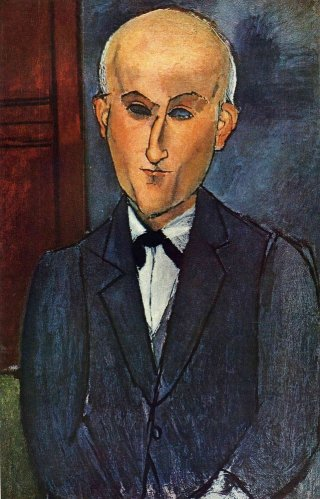 Reprodukcja Max Jacob, Amedeo Modigliani
