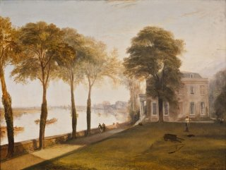 Reprodukcja Mortlake Terrace Early Summer Morning, William Turner