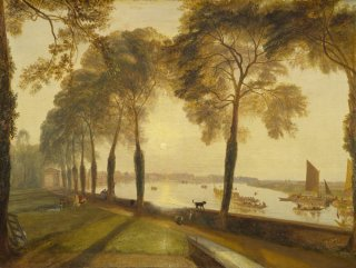 Reprodukcja Mortlake Terrace, William Turner