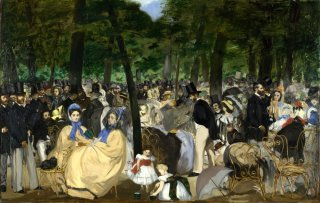 Reprodukcja Music in the Tuileries, Edouard Manet