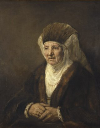 Reprodukcja Portrait of an Old Woman, Rembrandt