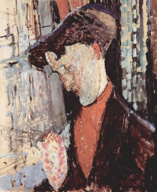 Reprodukcja Portrait of Frank Burty Haviland, Amedeo Modigliani