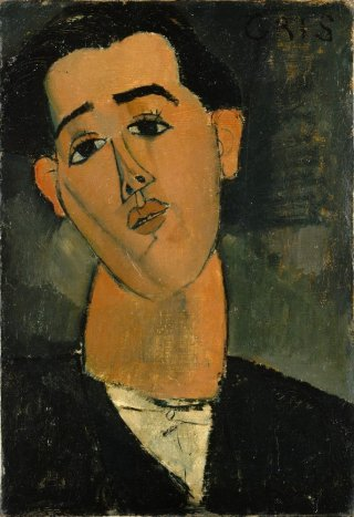 Reprodukcja Portrait of Juan Gris, Amedeo Modigliani