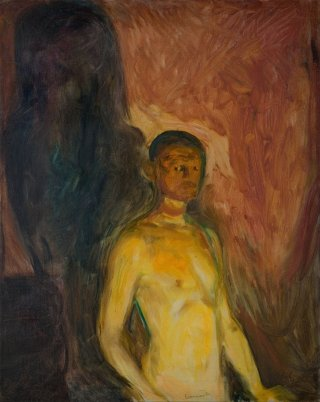 Reprodukcja Self-Portrait in Hell, Edvard Munch