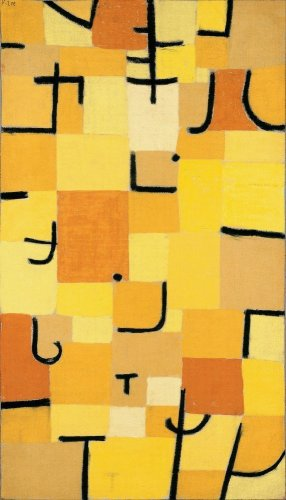 Reprodukcja Signs In Yellow, Paul Klee