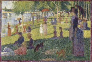 Reprodukcja Study for A Sunday on La Grande Jatte, Georges Seurat