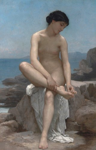 Reprodukcja The Bather, William-Adolphe Bouguereau