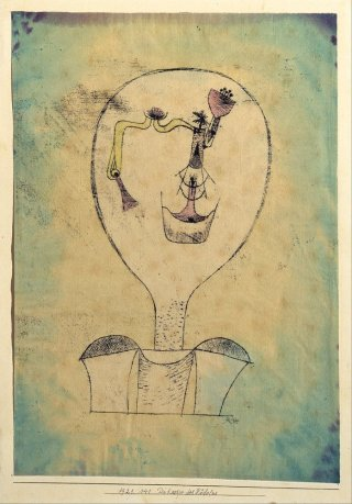 Reprodukcja The Beginnings of a Smile, Paul Klee
