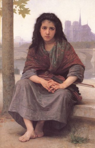 Reprodukcja The Bohemian, William-Adolphe Bouguereau