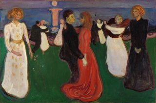 Reprodukcja The dance of life, Edvard Munch