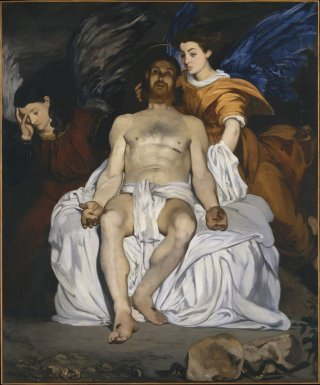 Reprodukcja The Dead Christ with Angels, Edouard Manet