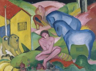 Reprodukcja The Dream, Franz Marc