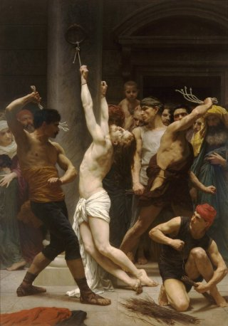 Reprodukcja The Flagellation of Our Lord Jesus Christ, William-Adolphe Bouguereau