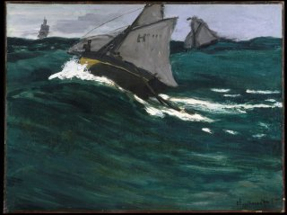 Reprodukcja The Green Wave, Claude Monet