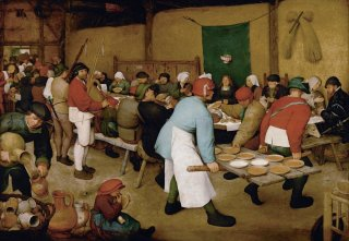 Reprodukcja The Peasant Wedding, Pieter Bruegel
