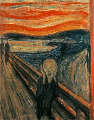 Reprodukcja The Scream, Edvard Munch