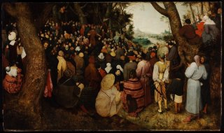 Reprodukcja The Sermon of Saint John the Baptist, Pieter Bruegel