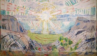 Reprodukcja The Sun, Edvard Munch