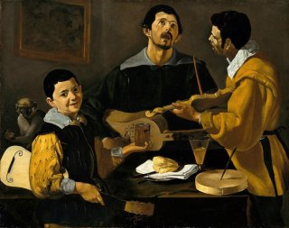 Reprodukcja The Three Musicians, Diego Velazquez