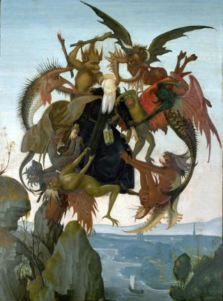 Reprodukcja The Torment of Saint Anthony, Michelangelo
