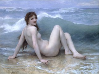 Reprodukcja The Wave, William-Adolphe Bouguereau
