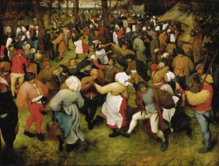 Reprodukcja The Wedding Dance, Pieter Bruegel