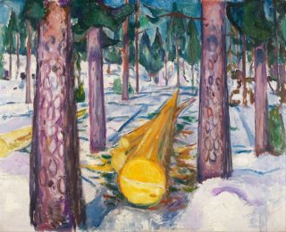 Reprodukcja The Yellow Log, Edvard Munch