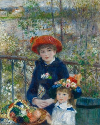 Reprodukcja Two Sisters, On the Terrace, Renoir Auguste