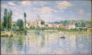 Reprodukcja Vetheuil in Summer, Claude Monet