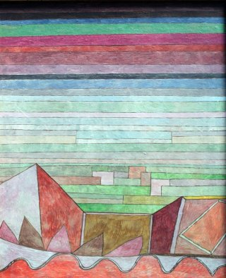 Reprodukcja View into the Fertile Country, Paul Klee