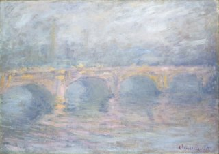 Reprodukcja Waterloo Bridge, London, at Sunset, Claude Monet