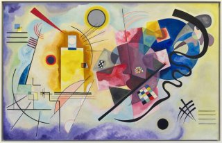 Reprodukcja Yellow-Red-Blue, Wassily Kandinsky
